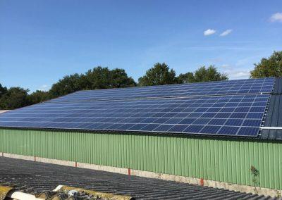 Installation avec énergies renouvelables