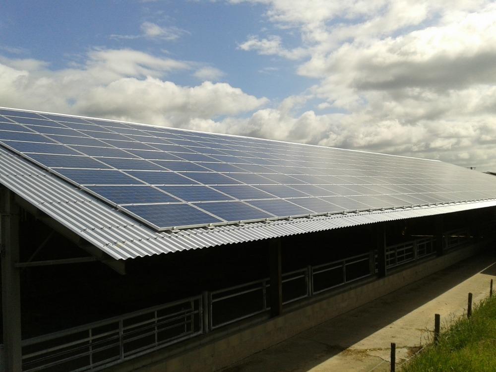 Location de toitures avec des panneaux solaires