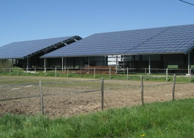 Installation photovoltaïque agricole